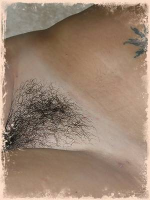 Amateur Babe Spreading Her Hairy Pussy